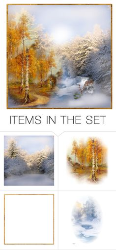 """Fall to Winter"" by rasc2016 ❤ liked on Polyvore featuring art"