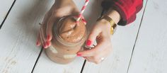 A sweet and succulent chocolate covered protein shake—sure to show someone how much you love them.