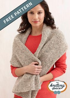 Add another extra comfy and toasty winter accessory to your collection and make this Beginners Tweedy Knit Scarf. It's also delightfully soft and pleasant on the skin. In fact, it's a fantastic gift idea for any occcasion. | Discover over 5,500 free knitting patterns at theknittingspace.com Winter Knitting Patterns, Free Knitting, Autumn Aesthetic, Lion Brand Yarn, Knitting For Beginners, Winter Accessories, Free Pattern, Autumn Fashion, Cowls