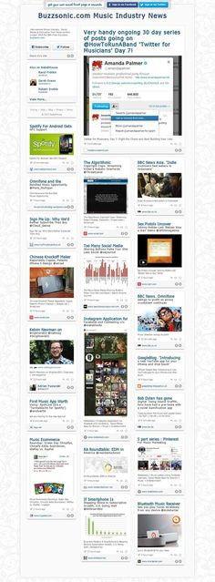 The Buzzsonic Music Industry News feed.