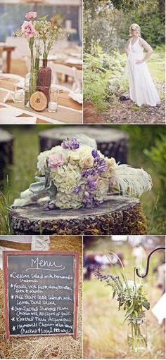 rustic wedding by harriett