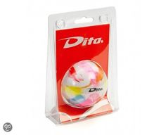 Dita hockeybal in Blister - Regenboog