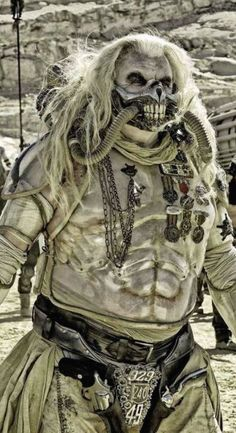 "COSTUME DESIGN  ""Max Max: Fury Road"" (2015). Oscar award winning costume designs by Jenny Beavan- BA (Hons) Performance Design & Practice alumni: http://www.arts.ac.uk/csm/courses/undergraduate/ba-performance-design-and-practice/"