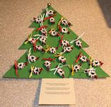 How to Make Crafts Using Candy: Advent Candy Tree and Poem Large Christmas Tree, Christmas Tree Crafts, Twelve Days Of Christmas, Christmas Countdown, Christmas Crafts, Christmas Ideas, Christmas Wishes, Crafts To Make, Fun Crafts