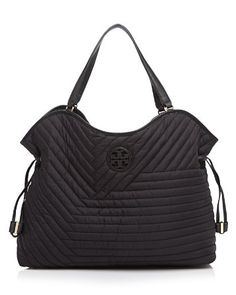 e70f2ab2bfac1 Tory Burch Quilted Nylon Slouchy Tote Handbags - Best Sellers -  Bloomingdale s
