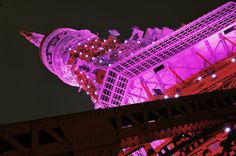 Pink Tokyo Tower by PQ on PHOTOHITO Tokyo Tower, Opera House, Building, Travel, Pink, Viajes, Buildings, Hot Pink, Destinations