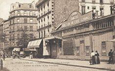 avenue de Clichy - Paris 17ème/18ème - Grand concert-brasserie du libre échange, vers 1900