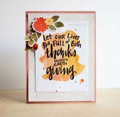 Full of Thanks and Giving (via Bloglovin.com )