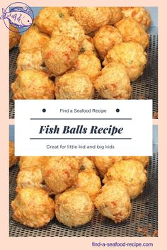 A fish balls recipe that the kids will love (and the grown ups) Simple to prepare and it's a way of using leftover potato and fish. Fish Recipes For Kids, Baby Food Recipes, Cooking Recipes, Paleo Recipes, Leftover Fish Recipe, Leftover Salmon Recipes, Entree Recipes, Seafood Recipes, Fishball Recipe
