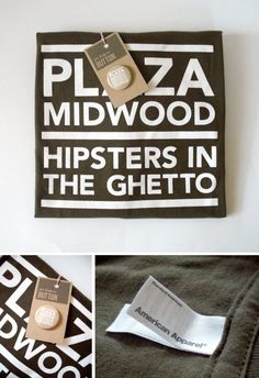 Items similar to Plaza Midwood: Hipsters in the Ghetto // American Apparel Unisex Tshirt on Etsy American Apparel, Hipster, China, North Carolina, Handmade Gifts, Charlotte, Queen, Etsy, Places