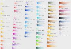 Lápis de cor aquareláveis: Derwent - Juliana Rabelo