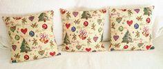 Decorative chrismas cushion cover  weaved picture by SUNSUELLE
