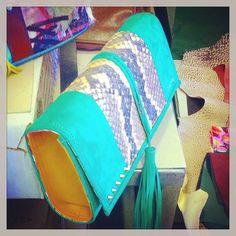 OTTO❤️...clutch pitone naturale #otto #ottobag #outfitoftheday #bag #clutch #MFW #moda #fashion #fashionista #fashionstyle #theblondesalade #songofstyle #styleblog #style #streetstyle