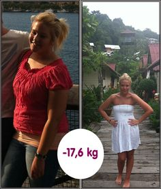 17,6 kg och en lycklig tjej med framtiden i siktet! grattis! #viktminskning, #bantningspiller