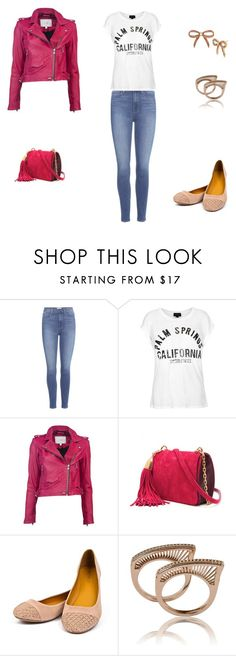 """Untitled #10995"" by alexia-andra ❤ liked on Polyvore featuring Paige Denim, Topshop, IRO, Nina Ricci, Bamboo and Betsey Johnson"