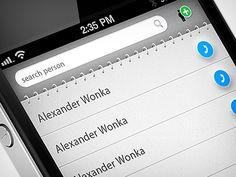 phonebook app by Martin Schurdak