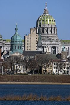 State Capitol Building, Harrisburg, Pennsylvania.  I  once lived  in Camp Hill PA just across the Susquehanna River... I love this building.