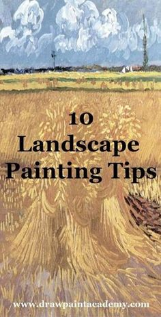 landscape paintings Check out these landscape painting tips perfect for beginners. These are 10 simple and actionable tips which you can use in your next landscape painting. Acrylic Painting Lessons, Acrylic Painting Techniques, Art Techniques, Oil Painting Tutorials, Painting Canvas, Oil Painting For Beginners, Painting Collage, Painting & Drawing, Guache