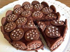 Questa torta pan di stelle è un dolce che non necessita di cottura in forno scopri la ricetta fotografata passo passo