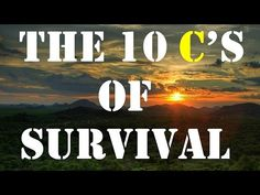 The C's of Your Survival Gear - Clear Survival | Clear Survival
