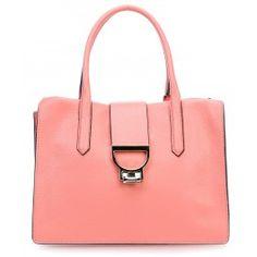 wardow.com - #bag #trend #red #fruits #color #Coccinelle Arlettis Smart Handtasche genarbtes Rindsleder koral
