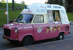 Ford Transit ice cream van - perfect Summer afternoon