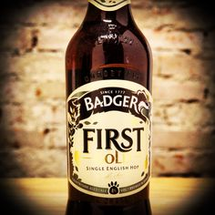 Cerveja do dia: Badger First Gold (4,0% / Blandford St. Mary - Inglaterra) #cervejadodia #cerveja #beer #beeroftheday