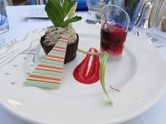 Fred. Olsen Cruise Lines - Mini Cruise aboard Braemar, Grill Mint Chocolate Cup