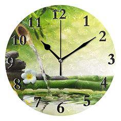 Essentials Umi Horloge murale silencieuse en forme darbre