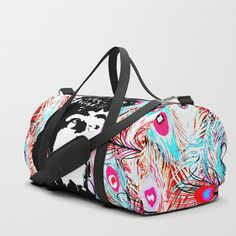 My lovely Freeda Frida Kahlo Duffle Bag  No need to muffle your duffle game. Our duffle bags are sure to be your new favorite gym and travel go-to, featuring crisp printed designs on durable spun poly fabric for a canvas-like feel. Constructed with premium details inside and out for ultimate protection and comfort. Available in three sizes. Duffle Bags, Crisp, Print Design, Gym, Printed, Canvas, Fabric, Stuff To Buy, Travel
