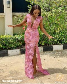 Lastest Sexy Lace Gowns Styles – Fashion and Style – Flipmemes Nigerian Lace Dress, Nigerian Dress Styles, African Lace Styles, Latest African Fashion Dresses, African Dresses For Women, African Fashion Traditional, Lace Dress Styles, Aso Ebi Lace Styles, Lace Gowns