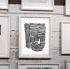 Set of 2 Prints Abstract Art Prints Large Wall Art Black And White Wall Art, Large Wall Art, Paper Size, Fine Art Paper, Abstract Art, Original Art, Hand Painted, Graphic Design, Art Prints
