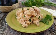 insalata di pollo e patate in salsa tonnata