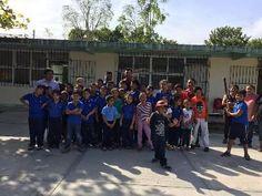CHAMPOTON, CAMPECHE.- 2 de Diciembre del 2016.- ( John Rosado / Beisbol Campechano ).- Con la presencia de un poco mas de treinta niños de ...