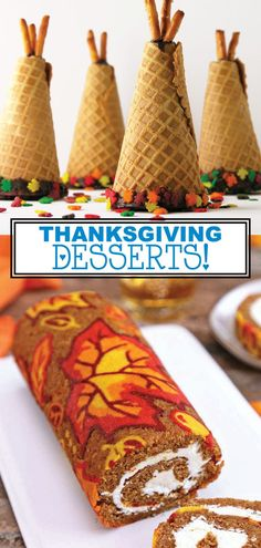 DIY Desserts for Thanksgiving If you are looking for spectacular new Thanksgiving desserts for this year, you have to see this collection of incredible dessert recipes. These Thanksgiving desserts are not only delicious, but they are Thanksgiving Desserts Easy, Fall Desserts, Mini Desserts, Delicious Desserts, Thanksgiving Activities, Thanksgiving 2020, Thanksgiving Decorations, Delicious Chocolate, Homemade Desserts