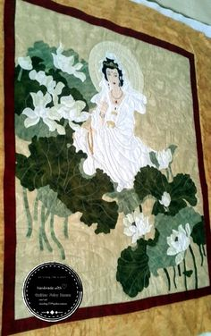 Quang Yin piece by Quilter Fairy House.