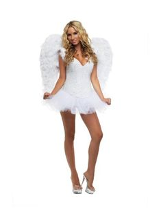 Starline Signature White Sexy Angel Women's Costume, White, Large Starline http://www.amazon.com/dp/B0088BGM4Q/ref=cm_sw_r_pi_dp_Iaf8vb15TM0H8