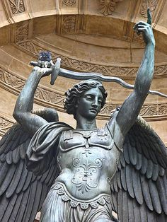 Fountain Saint Michel - Paris, France