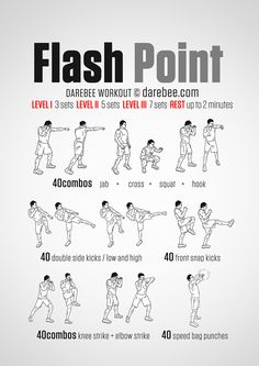 Flash Point Workout