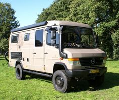 check at more Mercedes Vario 44 Expedition Camper Van The post Mercedes Vario 44 Expedition Camper Van appeared first on mercedes. Mercedes Camper Van, 4x4 Camper Van, 4x4 Van, Off Road Camper, Camper Caravan, Truck Camper, Mercedes 508, Mercedes Vario, Mercedes Benz Vans