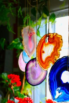 Gorgeous agate slice natural mobile ●●❁ڿڰۣ❁ ஜℓvஜ ♡❃∘✤ ॐ♥..⭐..▾๑ ♡༺✿ ☾♡·✳︎· ❀‿ ❀♥❃.~*~. SUN 17th JAN 2016!!!.~*~.❃∘❃✤ॐ ♥..⭐.♢∘❃♦♡❊** Have a Nice Day! **❊ღ༺✿♡^^❥•*`*•❥ ♥♫ La-la-la Bonne vie ♪♥ ᘡlvᘡ ❁ڿڰۣ❁●●