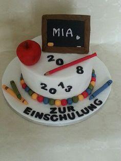 first day of school cake / Einschulungstorte