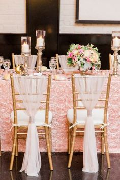 Toma nota de estas ideas de decoración de sillas para boda Image: 10