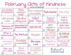 More than 40 family friendly kindness ideas and FREE printable kindness calendars for kids and idea cards in one convenient location. Kindness For Kids, Kindness Ideas, Kindness Projects, Kindness Activities, February Holidays, Silly Holidays, Printable Calendar Template, Free Printable, Bible Study Group
