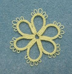 Stitches of Life II: tatting.... with supervision