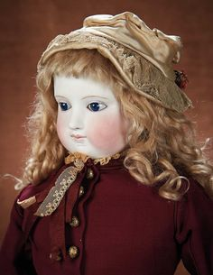 An All-Original Grand French Bisque Poupee by Blampoix in Beautiful Costume 5500/7500