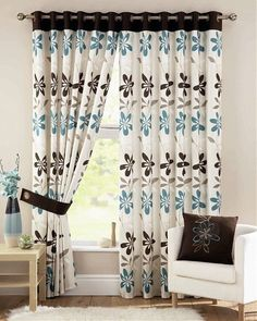 Curtains Designs 2013 Ideas On Pinterest Girls Room