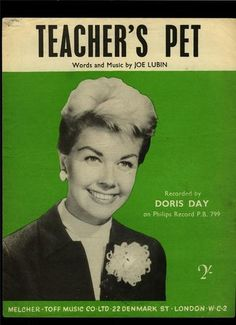 Doris Day vintage sheet music