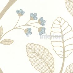 Celia Vine wallpaper from Anna French - AT1417 - Cream