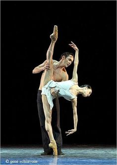"Yuan Yuan Tan and Damian Smith in ""Distant Cries"" – Indianapolis City Ballet Gala.  Photo by Gene Schiavone"